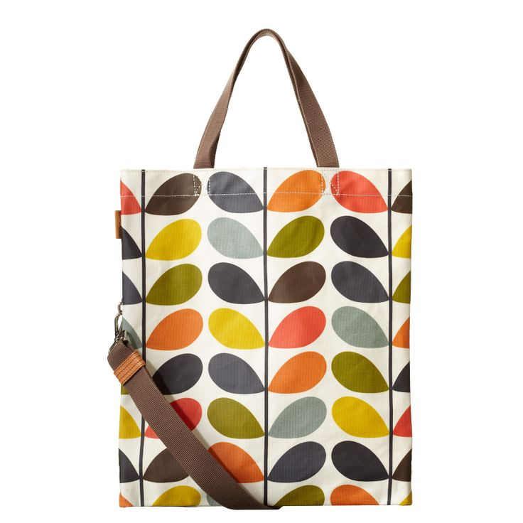 Orla Kiely For Apple Multi Stem Print Shoulder Bag 116