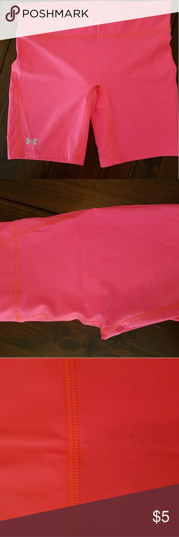 Under Armour pink compression shorts, fits like S Under Armour pink compression shorts, fits like S Shorts