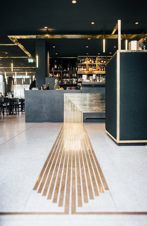 "The ""Modern"" Bar The ""new Maxburg"", a post-war modernist building located in the heart of Munich, was built by revered architects Sep Ruf and Theo Papst in 1957 to replace the castle once belonging to Bavarian duke Wilhelm V,..."
