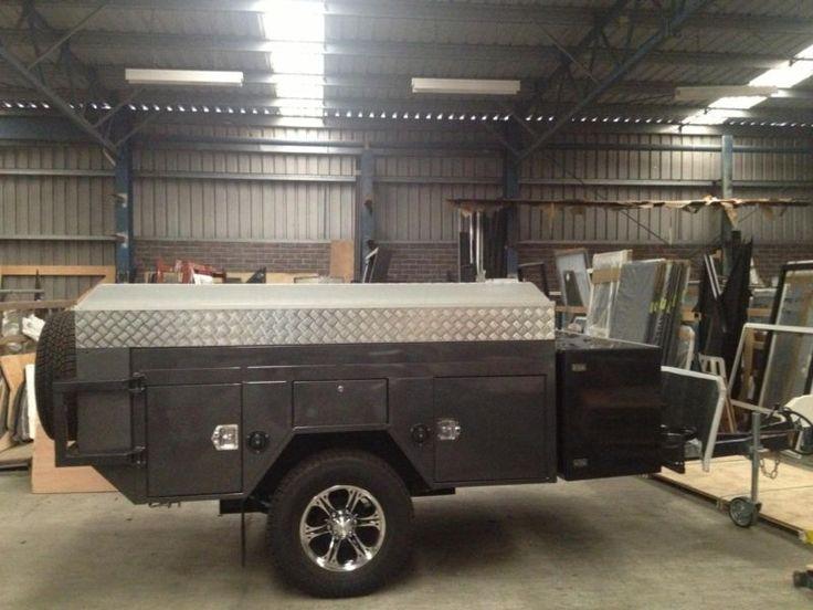 Heavy duty off road camper trailer australian built