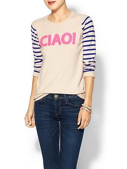 Pim + Larkin Ciao Sweater | Piperlime