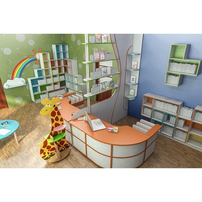 Детская библиотека №2 купить в Украине, цена Детская библиотека №2, Инд. проект 702   Ренессанс