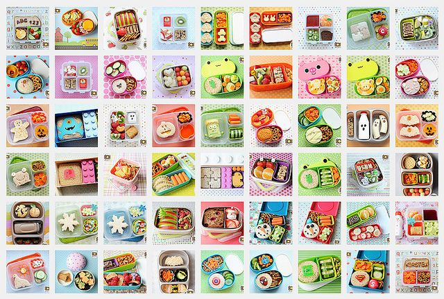 wicked bento box lunches/snacks for the kids