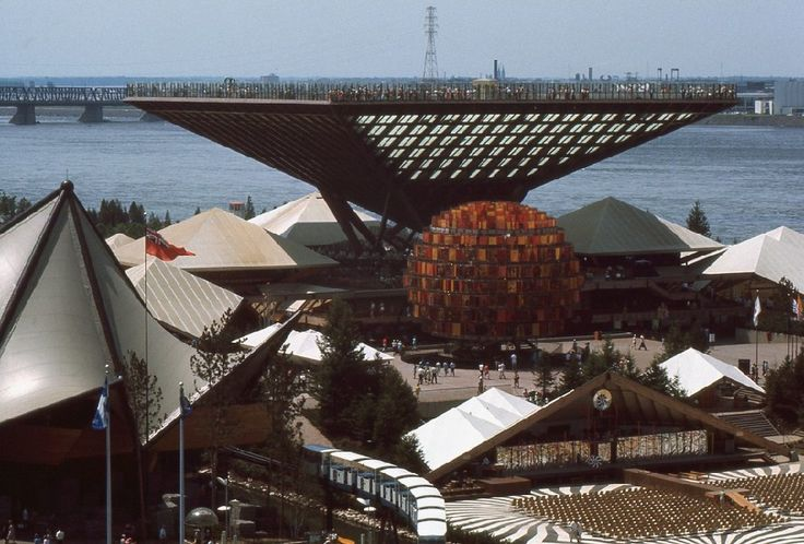 Expo 67 in Montreal - first time traveling without my family. Scary but worth it.