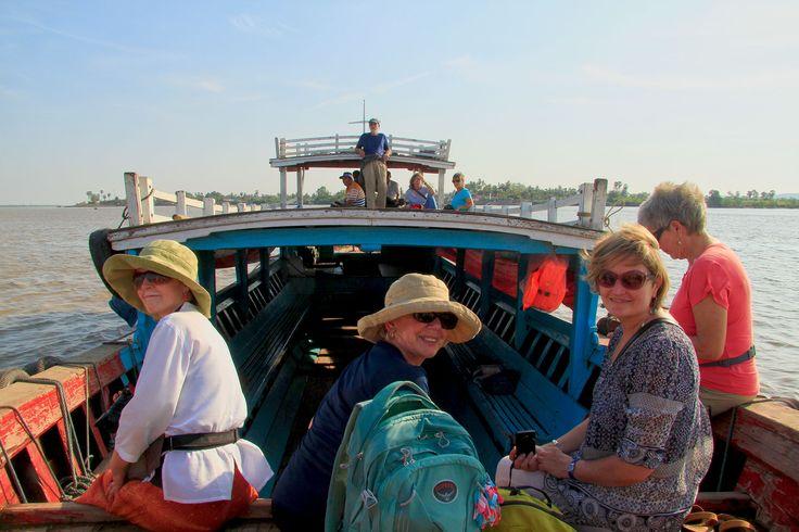 Boat ride, Mawlamyine, Burma
