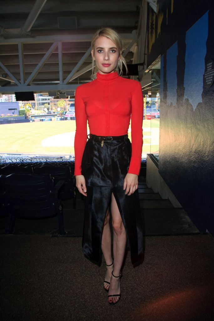 Emma Roberts in Nina Ricci Fall 2016