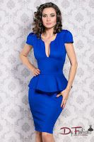 rochie-office-Before Blue