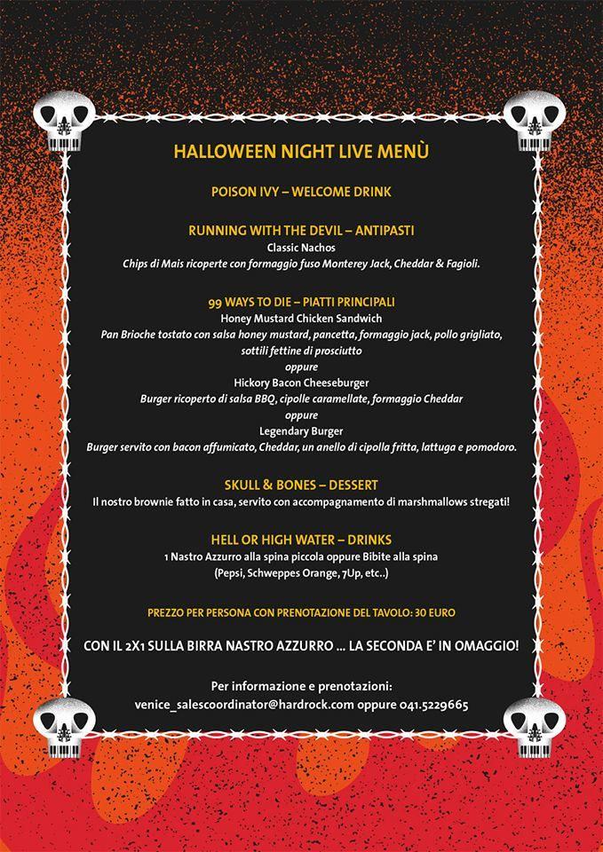 #Halloween #2014 menu