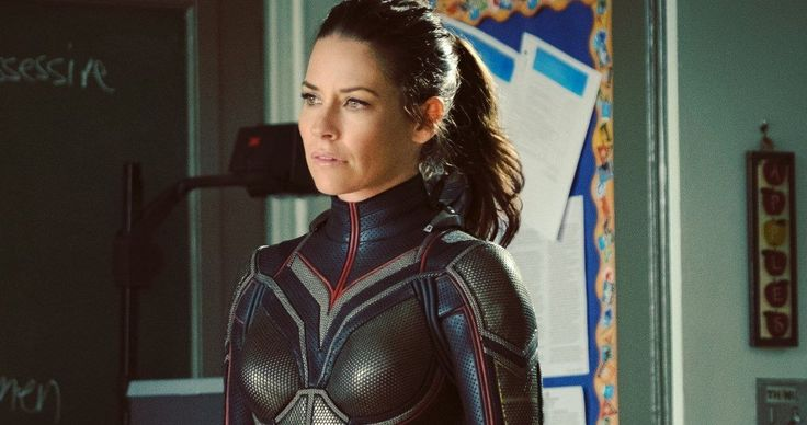 Evangeline Lilly Pays Tribute to Jack Kirby in Ant-Man and the Wasp Photo -- The new look of the Wasp suit is noticeably different from what we saw in 2015's Ant-Man as Evangeline Lilly shows us while simultaneously paying tribute to Jack Kirby. -- http://movieweb.com/ant-man-2-wasp-jack-kirby-tribute-photo-evangeline-lilly/