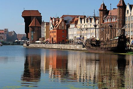 Gdańsk is one of the most beautiful cities of the First Republic of Poland,