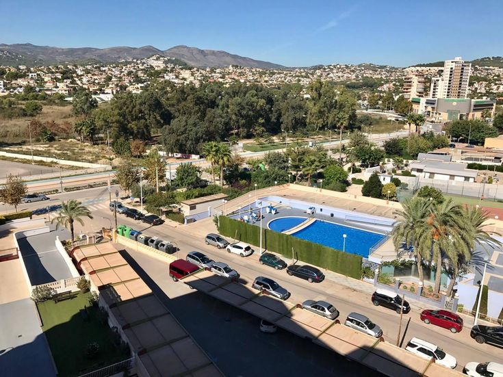 2 Bed Penthouse Apartment For sale Calpe With Fantastic Sea, Lake & Mountain Views