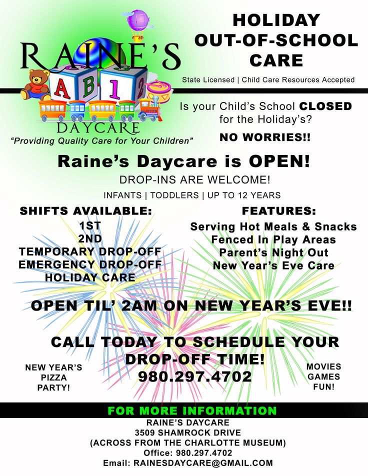 Raine's Daycare Child care resources, Daycare forms