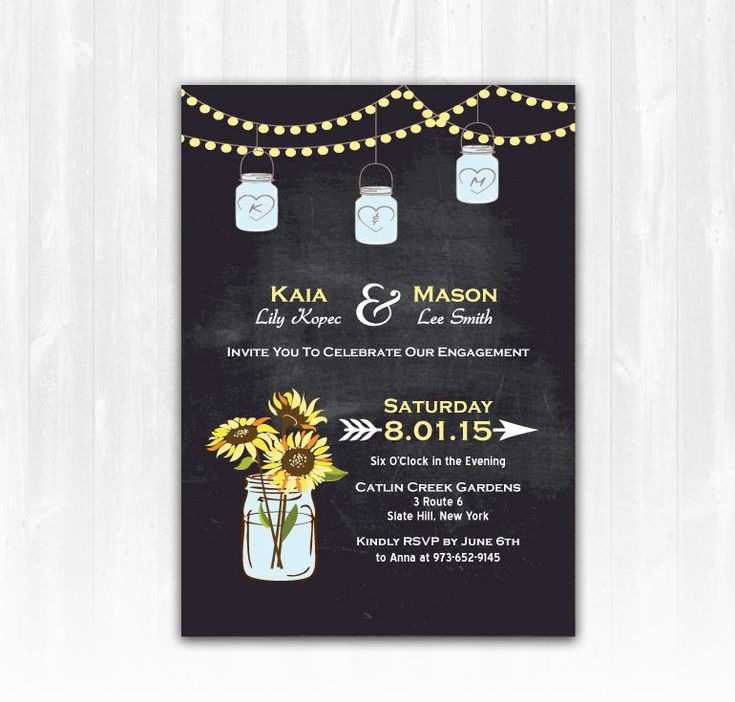 2628 best Engagement Party Invitations images – Creative Engagement Party Invitations
