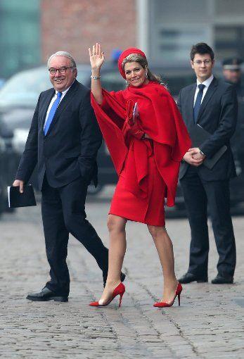 Königin Máxima und König Willem-Alexander der Niederlande bei ihrem Besuch in Hamburg Foto: dpa