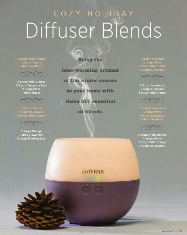 Cozy Holiday diffuser Blends Love the doTERRA Petal that is pictured here,  it's my favorite beginner diffuser and one that I often recommend.  Do you have questions about diffusers or essential oils?  Email me at essentialoilswithbetsy@gmail.com for help!!!!