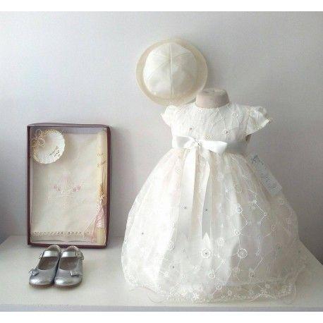 Malinda ChildBoutique:   Vestido  Batismo 1/4609