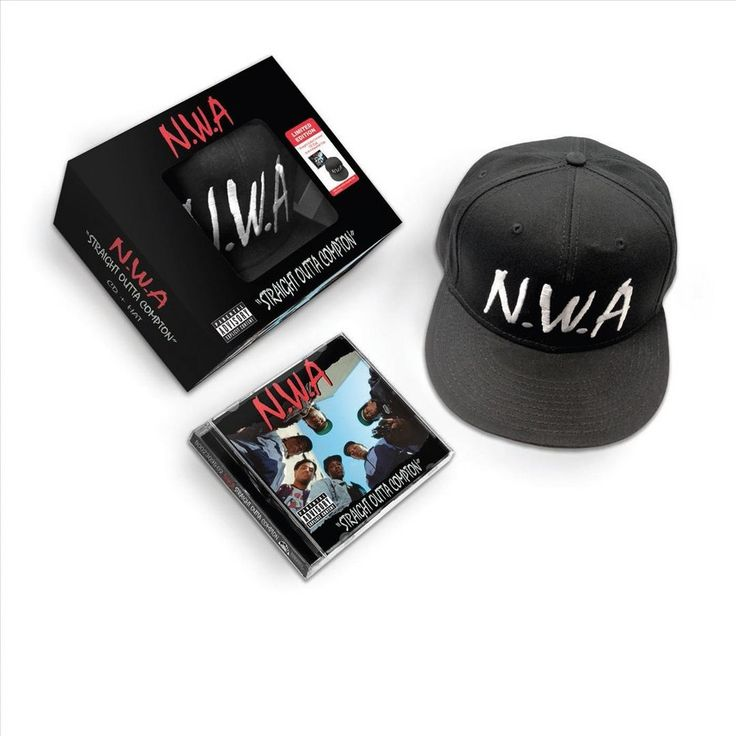 N.W.A - Straight Outta Compton (CD/Hat) [Explicit Lyrics]