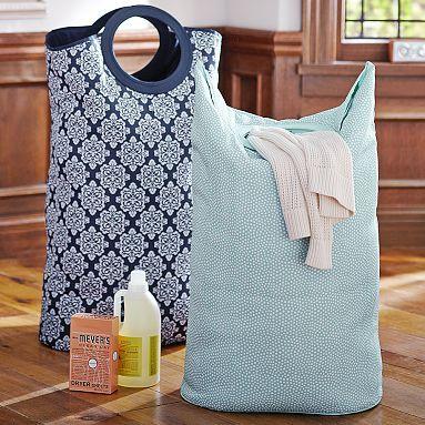 Easy-Carry Laundry Bag @Vicki Snyder Barn Teen