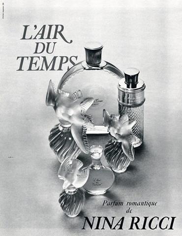 Nina Ricci 'L'Air du Temps', 1969