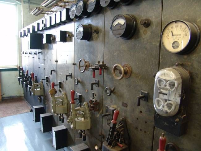 vintage electric switchboards - Google Search