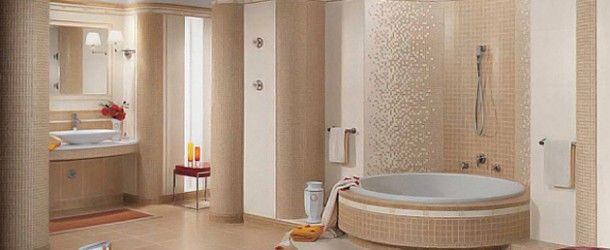 16 Beige and Cream Bathroom Design Ideas via @homedesignlover