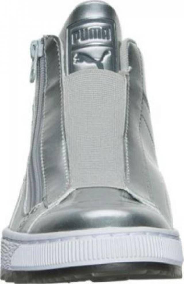 chaussures puma femmes chaussures chaussures mid chaussures argent puma blanc kixify