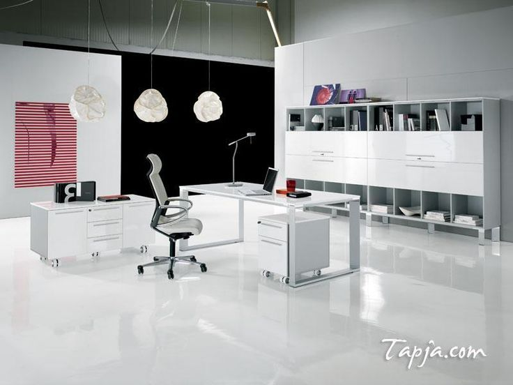modern office colors. fascinating white black wall colors for modern office design with cabinet shelves and elegant