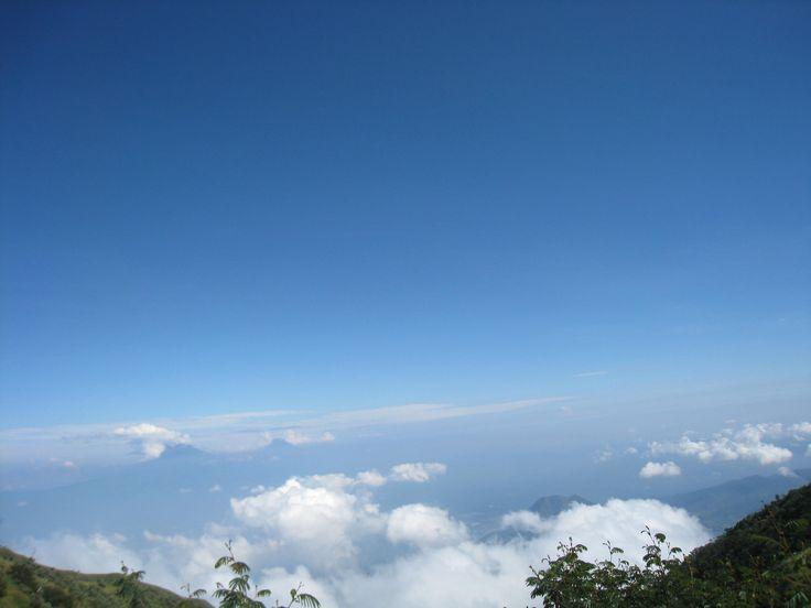 Top of the sky