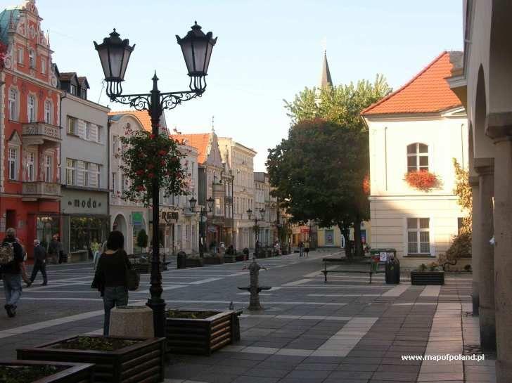 poland Zielona Góra | Zielona Gora Old Town - Zielona Gora pictures. Map of Poland, Zielona ...