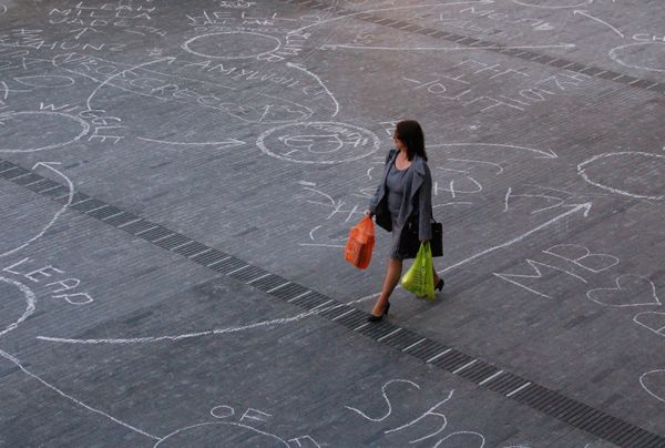 Southbank Centre Circle Game | Visual Art Research