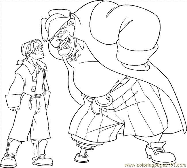 400 Best Treasure Planet Images On Pinterest Air Ship Coloring Page Big Planet