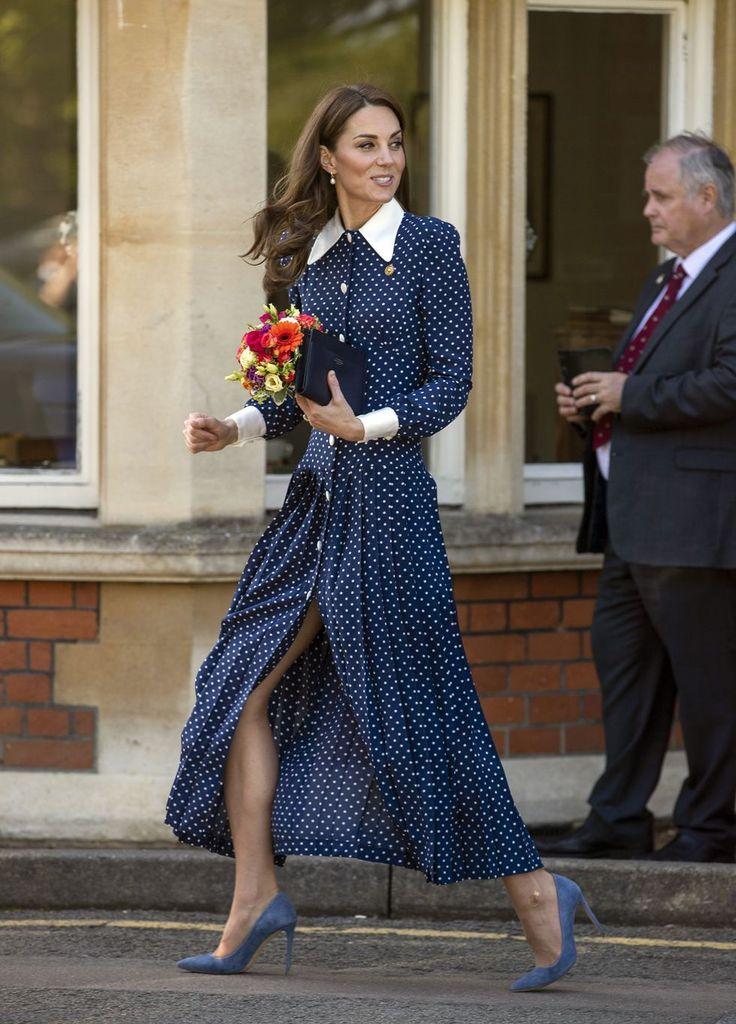 Kate Middleton sublime en robe recyclée… et prête à rencontrer son neveu Archie