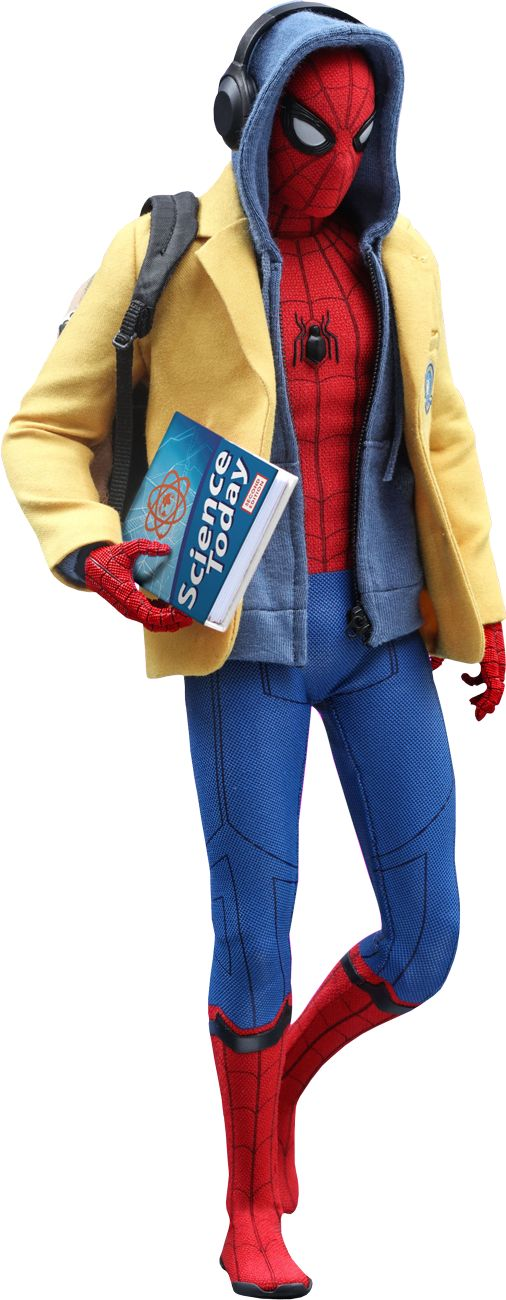 Spider-Man: Homecoming - Spider-Man Deluxe 1/6th Scale Hot Toys Action Figure | Popcultcha
