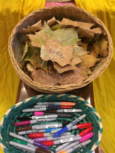 """Forgive us our sins, for we also forgive everyone who has wronged us. And don't lead us into temptation."" (Luke 11.4) Below are ideas for interactive prayer stations focusing on Creation and…"