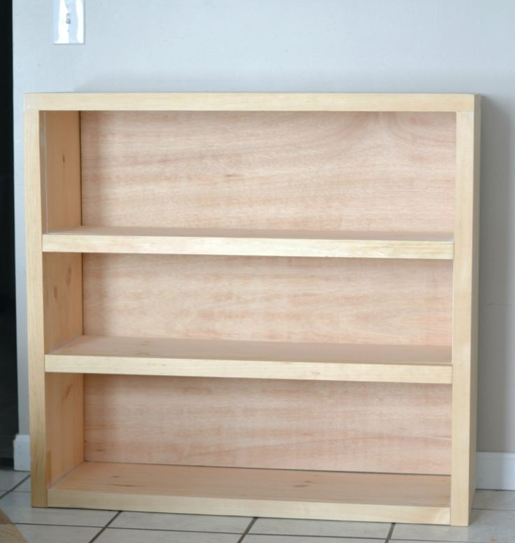 25 best ideas about build a bookcase on pinterest for Easy diy shelves