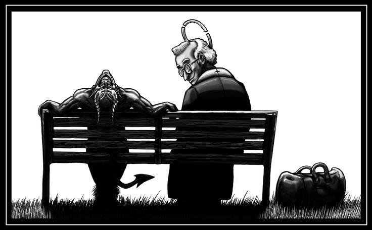 "Un mio vecchio racconto umoristico: ""L'esorcismo"".  #raccontibrevi"