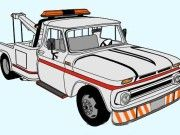1966 Chevrolet C20 TowTruck Free Vehicle Paper Model Download
