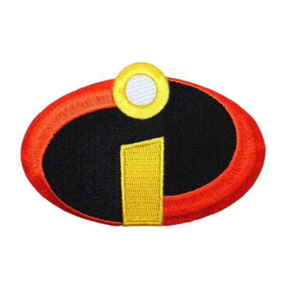 Disney Incredibles Superhero Costume Logo Patch by YourPatchStore