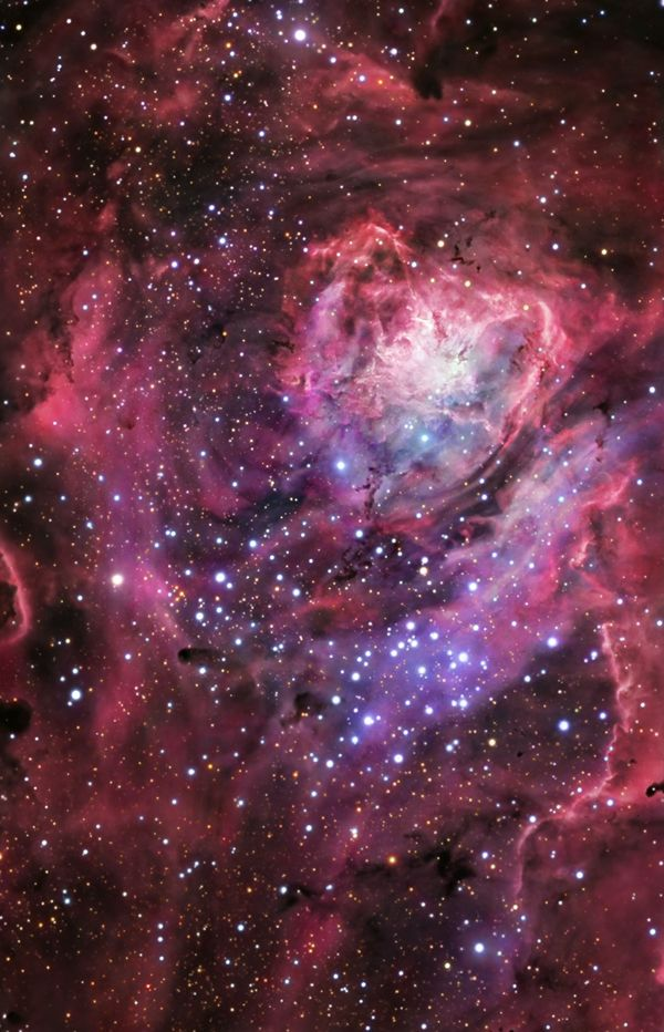 The Lagoon Nebula   M8- the Central Region