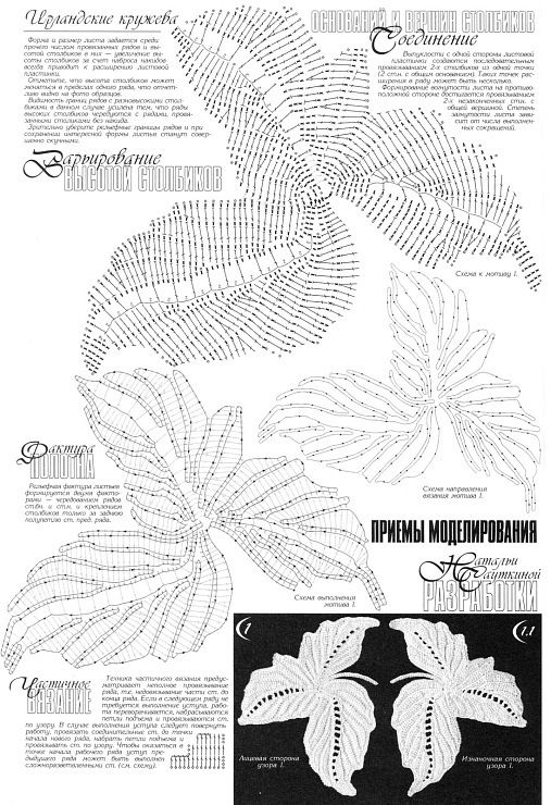 Gallery.ru / Photo # 149 - Plans knitting leaves - git-ta