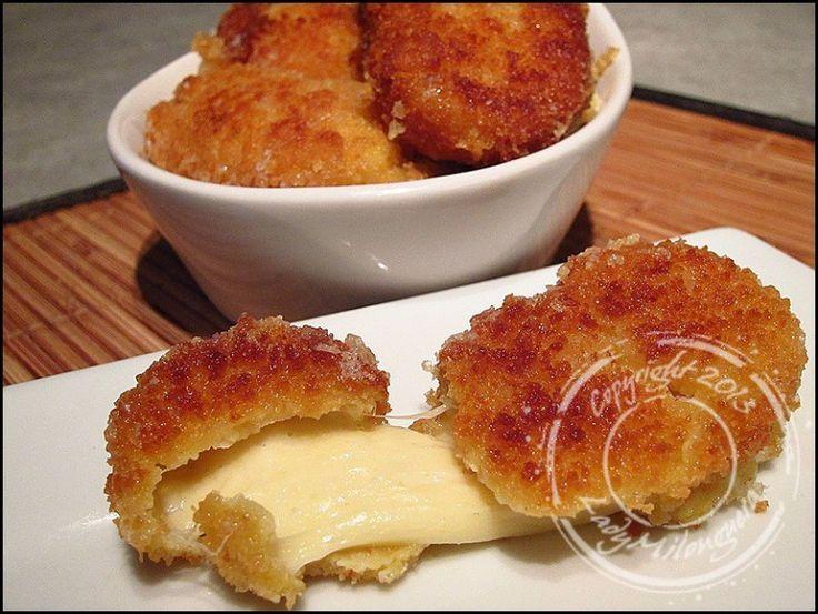 Beignets de mozzarella panée