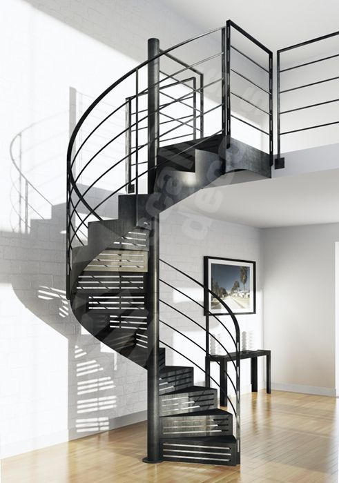 145 best escaliers images on Pinterest | Stairs, Railings and ...