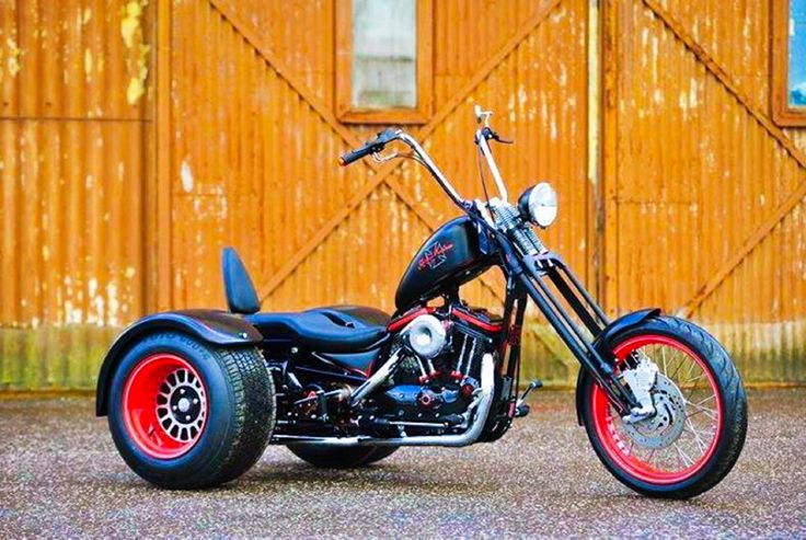Hot Rod Harley >> Custom Harley-Davidson Sportster Based Hot~Rod Inspired