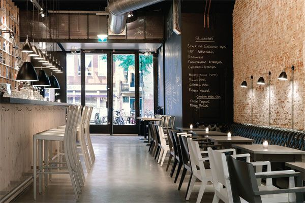 Another shot of the gorgeous amsterdam restaurant mazzo for Cafe mazzo