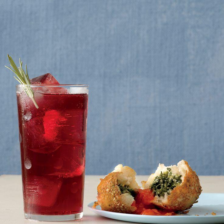 Ginger Red-Wine Spritzer