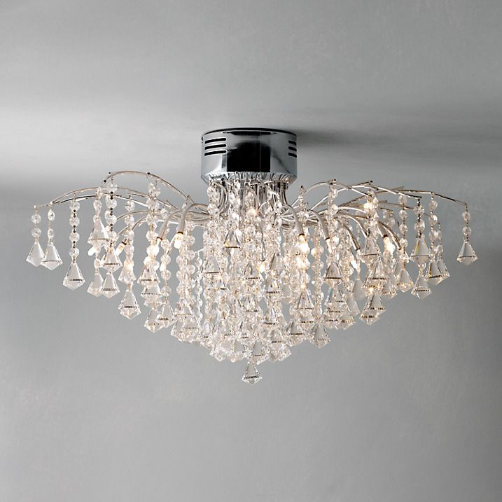 John lewis callisto semi flush ceiling light