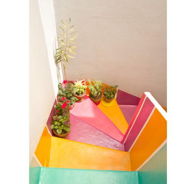 Inspiration déco : la touche de couleur | http://www.trendymood.com