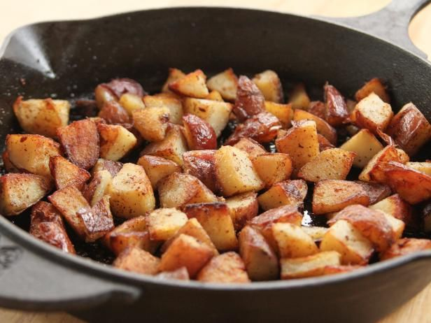 Get Crispy Bits Breakfast Potatoes Recipe from Food Network