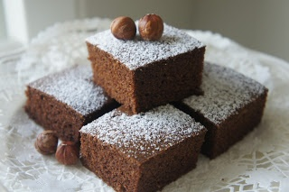 Buckwheat Chocolate Cake with Thermomix  150g Buckwheat grain 2 Eggs (small) 65g Olive oil 120g almond milk 50g Molasses or palm sugar 1 packet Stevia powder (optional) 15g Cocoa powder 1tsp Baking Powder 1/2 tsp Baking Soda 1/2 tsp vinegar 1/3 tsp salt 2 tsp vanilla extract (for variation: add some hazelnut to grind with the buckwheat)