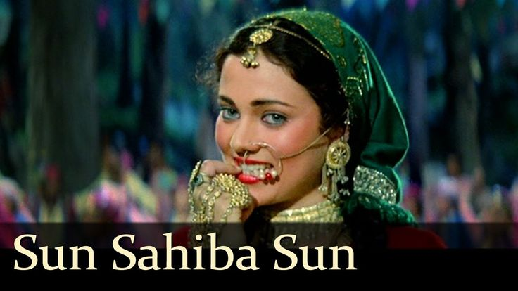 "A great co-ordination of the dance & song of the legendary singer #LataMangeshkar for this melodious track ""Sun Sahiba Sun"""